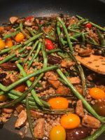 Einkorn and Green Bean Salad